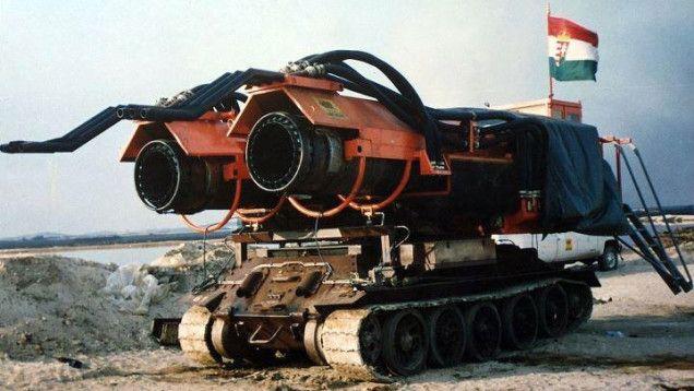 Big Wind: Il carro armato antincendio più potente al mondo