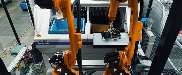 Mujin: Robot rimpiazza il 90% degli operai