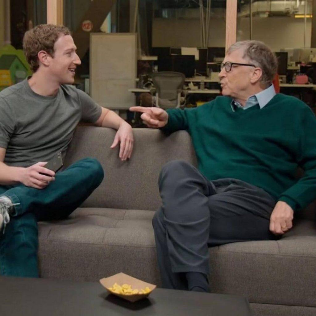 Zuckerberg e gates: Insieme contro il Covid-19