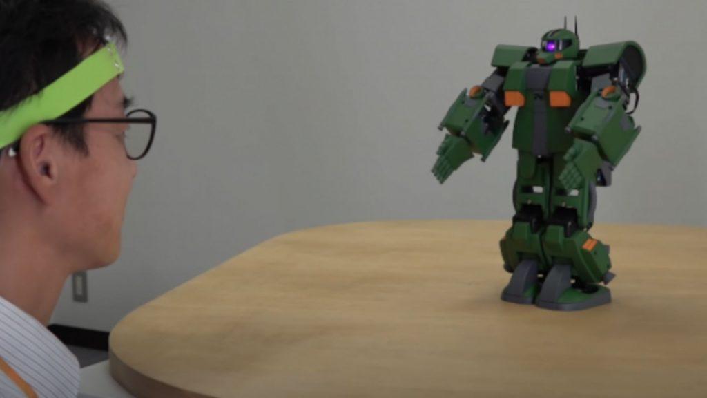 La tecnologia per il controllo mentale del Robot Gundam