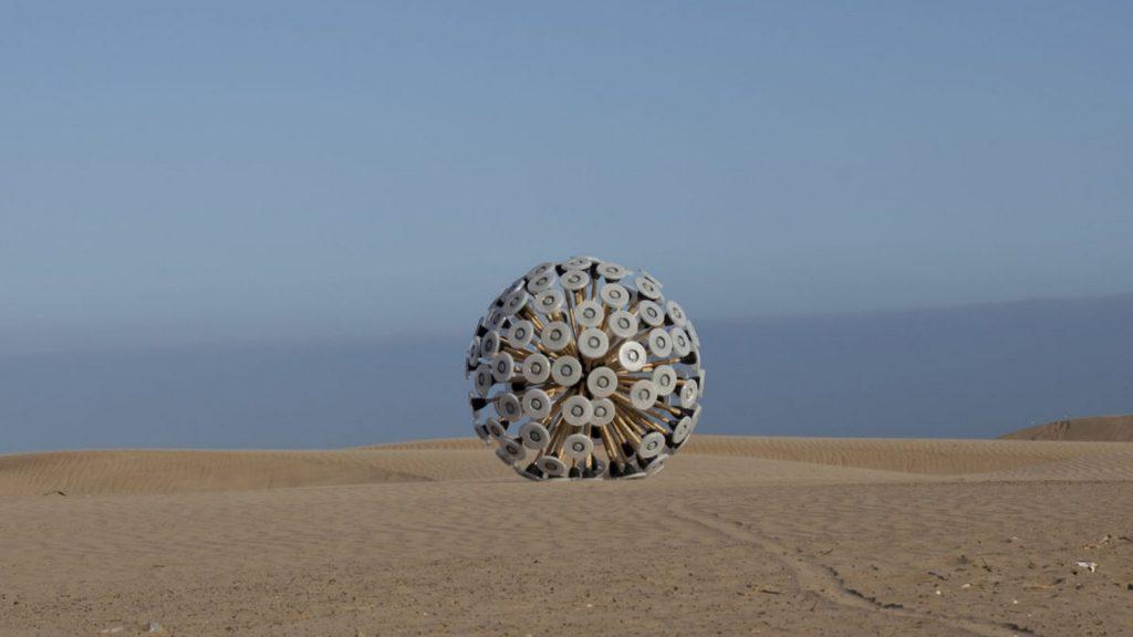 Mine Kafon Ball: il dispositivo low cost per il disinnesco delle mine anti uomo.
