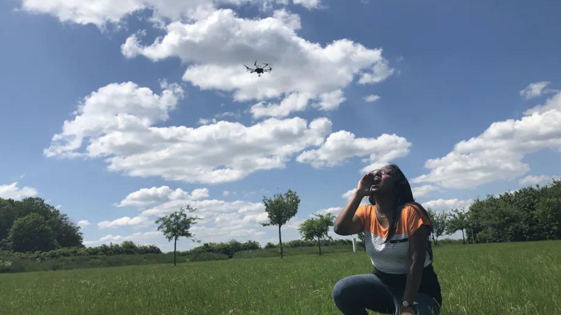 Droni e identificazione dei segnali di soccorso